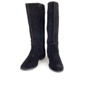 Easy Spirit Womens SZ 5.5 Boot Black Suede NIB